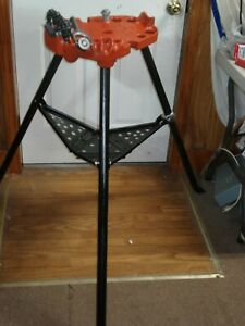 Ridgid 450 Tristand 1 8 To 5 Chain Pipe Threading Vise new Chain Jaw