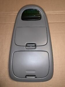 97 03 Ford F150 Roof Overhead Light Dome Console Storage Gray Oem