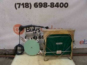 Mcelroy Fusion Machine Heating Iron T500 6 12 Inch 412 Machine Works Great