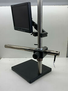 Ergoscope Lcd Monitor Mount Microscope Stand Heavy Base