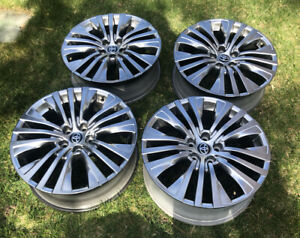 2021 Toyota Venza Wheels Rims Genuine Oem Hyper Silver 95009 Camry Corolla