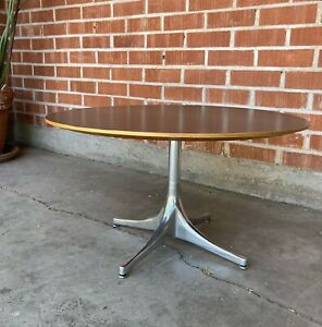 George Nelson For Herman Miller Pedestal Coffee Table Mid Century Modern