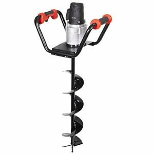 Xtremepowerus Pro series 1500w Electric Post Hole Digger Powerhead Include 6 Di
