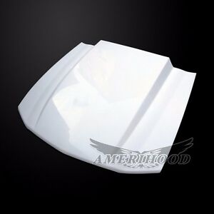 2007 2009 Ford Mustang Shelby Gt500 3 Cowl Style Functional Heat Extractor Hood