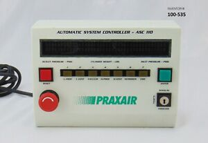Praxair Automatic System Controller Asc 110 used Working