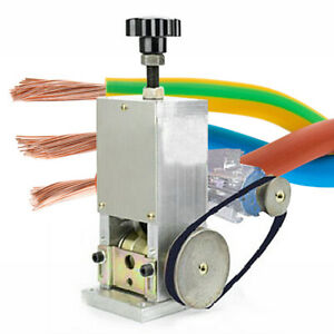Electric Wire Stripping Machine Copper Cable Peeling Stripper Copper Recycle