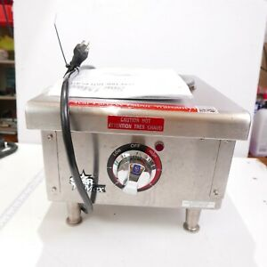 Star Max 501ff Countertop Electric 1 Burner Hot Plate Complete With Manual