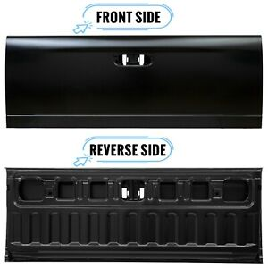 Rear Tailgate Gate Black Steel Replacement For 02 08 Dodge Ram 1500 2500 3500