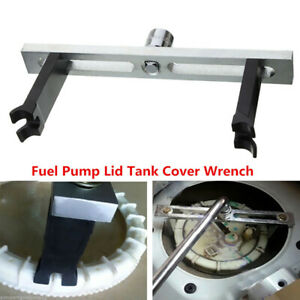 Fuel Pump Lid Tank Cover Remove Spanner Adjustable Wrench Tool For Car Pxjcyysq