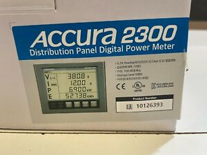 New Rootech Accura 2300 Distribution Panel Digital Power Meter 10126393