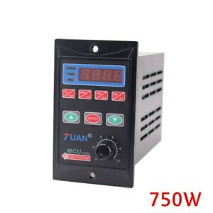 1x0 75kw 110v 220v Single To 3 Phase Variable Frequency Drive Inverter Converter