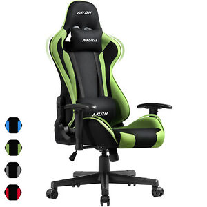 New Gaming Chair High back Recliner Office Chairs Swivel Desk Chair Racing Style