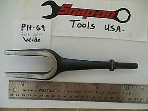 Snap On Tools Air Pneumatic Impact Hammer Bit Ph69 Ball Joint Tie Rod Separator