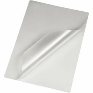 5 X A4 Clear Laminating Pouches Plastic Gloss Sheets Pockets Strong Sleeves