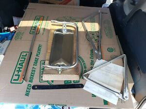 Nos Oem Vintage 60 S 70 S Ford Pick Up Truck Side Towing Mirror 16 1 4 X 7