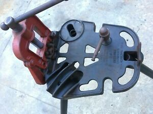 Ridgid Portable Tristand Pipe Vise 1 8 2 1 2 Local Pick Up Only