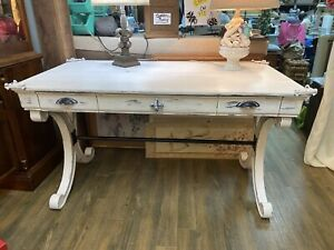 French Country Distressed Desk