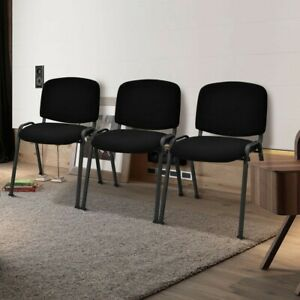 Set Of 5 Conference Chair Elegant Office Chair For Guest Reception Ergonomic New
