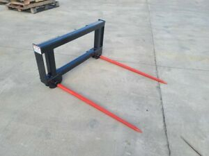 Double Hay Spear For Skidsteer tractor