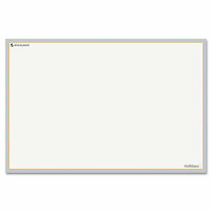 At a glance Aw601028 Wallmates Self adhesive Dry Erase Writing Surface White gr