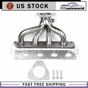Stainless Header Exhaust Manifold For 05 10 Chevy Cobalt Hhr Ion 2 2 2 4