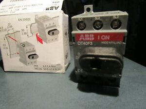Ot40f3 Main Power Disconnect 40a New In The Box