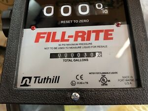 Tuthill Transfer Systems Brand Fill rite Series 900 Flow Meter