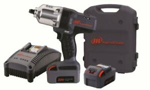 Ingersoll Rand W7150 K2 1 2 Inch High Torque Cordless Impact Wrench Kit Inc