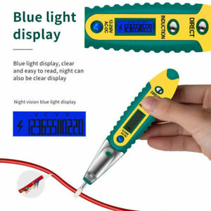 Portable Ac dc Non contact Lcd Electric Test Pen Voltage Digital Detector Tester