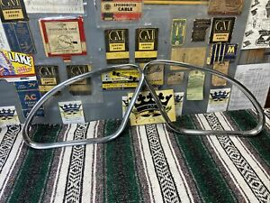 1940 Chevrolet Coupe Fixed Quarter Window Garnish Mouldings 40 Chevy Bomb Gm