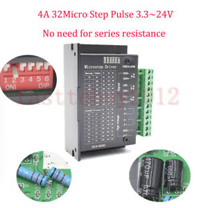 Cnc Single Axis Tb6600 0 2 5a Two Phase Hybrid Stepper Motor Driver Controller