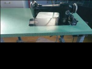 Singer 241 12 Industrial Sewing Machine With Clutch Drive Motor