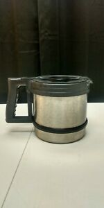 Bunn O Matic Coffee Pot Thermal Carafe Stainless Steel 32800 1000