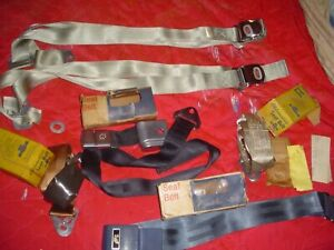 1960s Cadillac And Oldsmobile N O S Gm Seat Belts Mint New