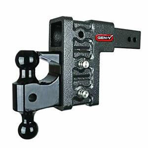 Drop Hitch 2 5 Receiver Class V 21k Towing Hitch Gh 623 Combo Includes Dual