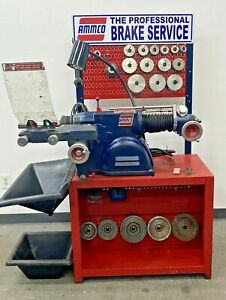 Ammco 4000b Disc Drum Brake Lathe W Bench And 3 4 1 ton Truck Adapters