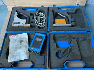 Fowler Wyler A40 Leveltronic Dual Head Differential Level Set Untested