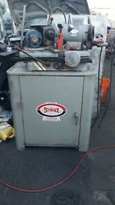Sioux Valve Grinder With Cabinet And Extra Seat Stones Pilot