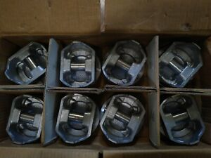 Set Of 8 Pistons For Chevy 350 423np Std Federal Mogul Nos Chevrolet Gm