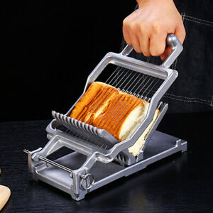 Cheese Bread Slicer Proffesional Food Cutter Cheese Bread Cutting Machine