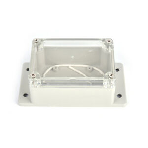 100 68 50mm Waterproof Plastic Electronic Project Cover Box Enclosure Cas_aa
