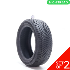 Set Of 2 Used 225 50r17 Michelin Crossclimate 2 98v 10 32