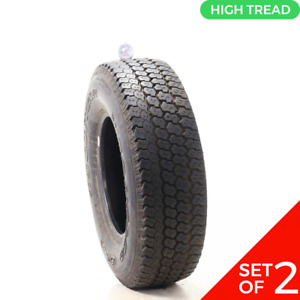 Set Of 2 Used Lt 30x9 5r15 Goodyear Wrangler Gs A 1n A 9 10 32