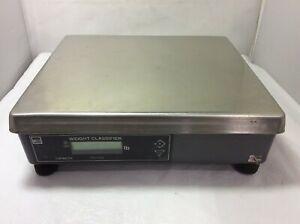 Used Nci Weight tronix Shipping Parcel Scale 150 X 0 05 Lbs