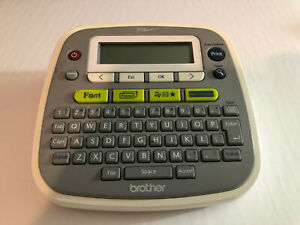 Brother Pt d200 Label Thermal Printer Label Maker no Tapes no Power Adapter