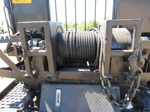 Pd Heavy Duty Hydraulic Winch With Controls And Supply Tank