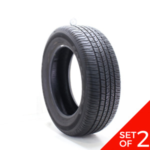 Set Of 2 Used 255 60r19 Goodyear Eagle Rs A 108h 7 5 8 5 32