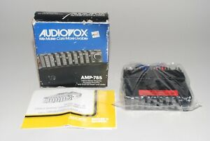 Vintage Audiovox Amp 785 7 Band Car Stereo Graphic Equalizer Amplifier 1988 New