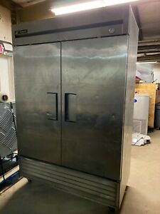 True T 49 Commercial Stainless Steel Reach In Refrigerator Cooler Not Cooling