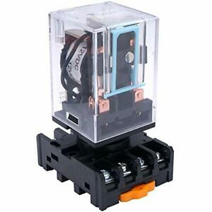 Taiss Mk2p i Dc 12v Coil 8 Pin Dpdt Electromagnetic Relay Power Relay With